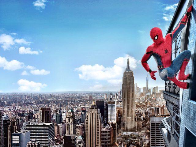 Человек-паук возвращение кино 4к.