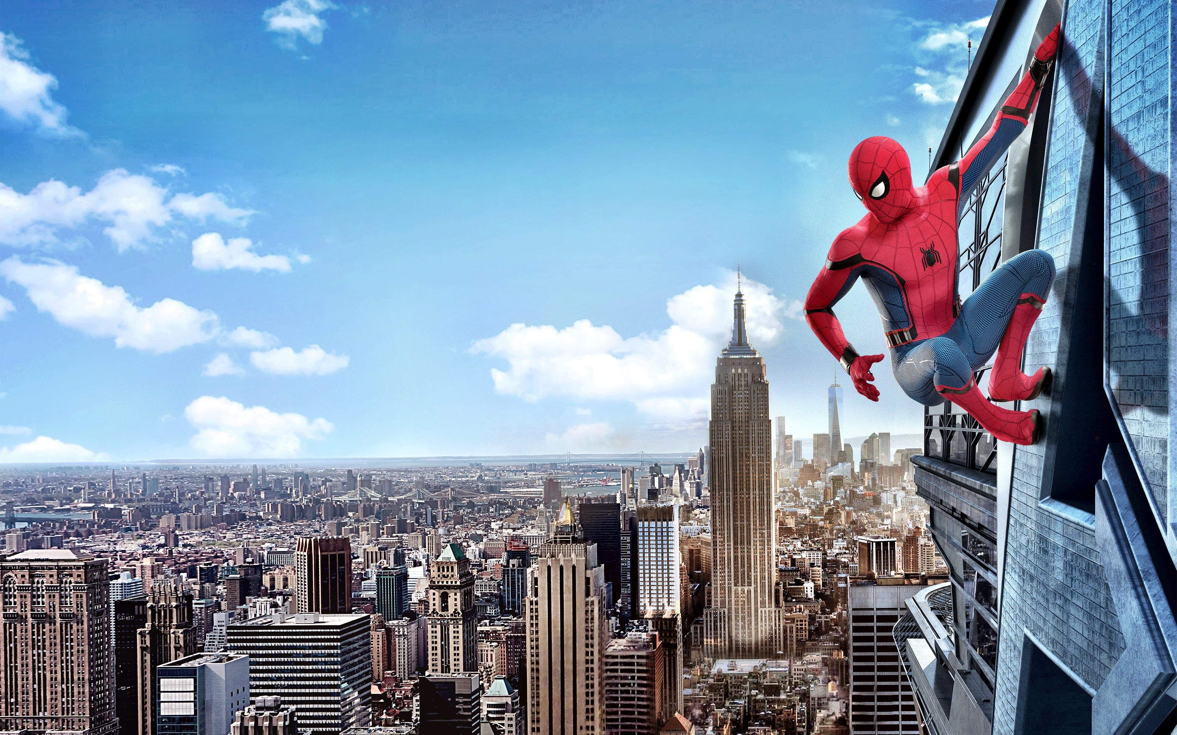Человек-паук возвращение кино 4к. обои скачать