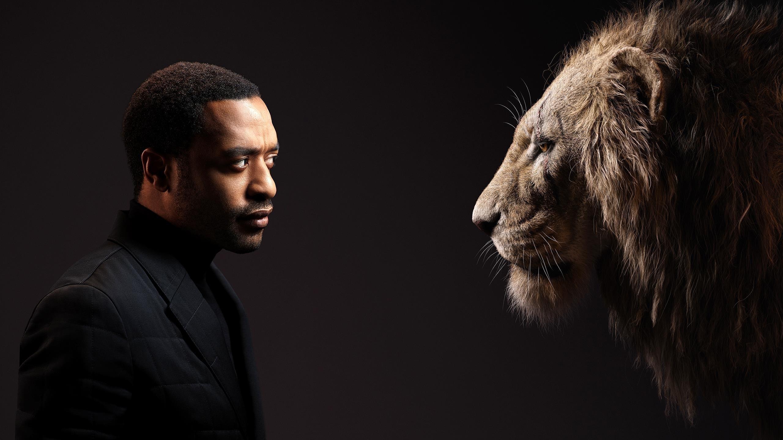 Чиветель Эджиофор как шрам у Короля Льва обои скачать