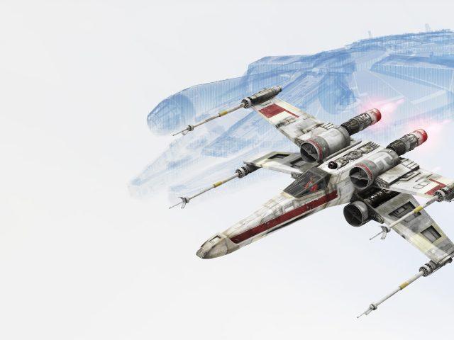 Звездные войны Battlefront х-крыло