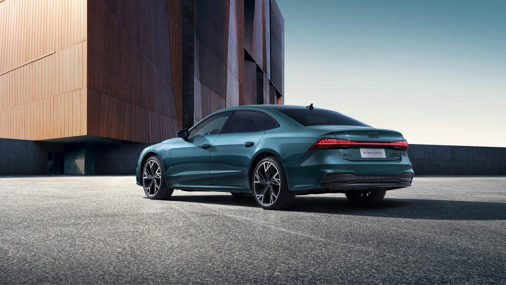 Audi a7l 55 tsfi quattro s line edition one 2021 4 автомобиля обои скачать