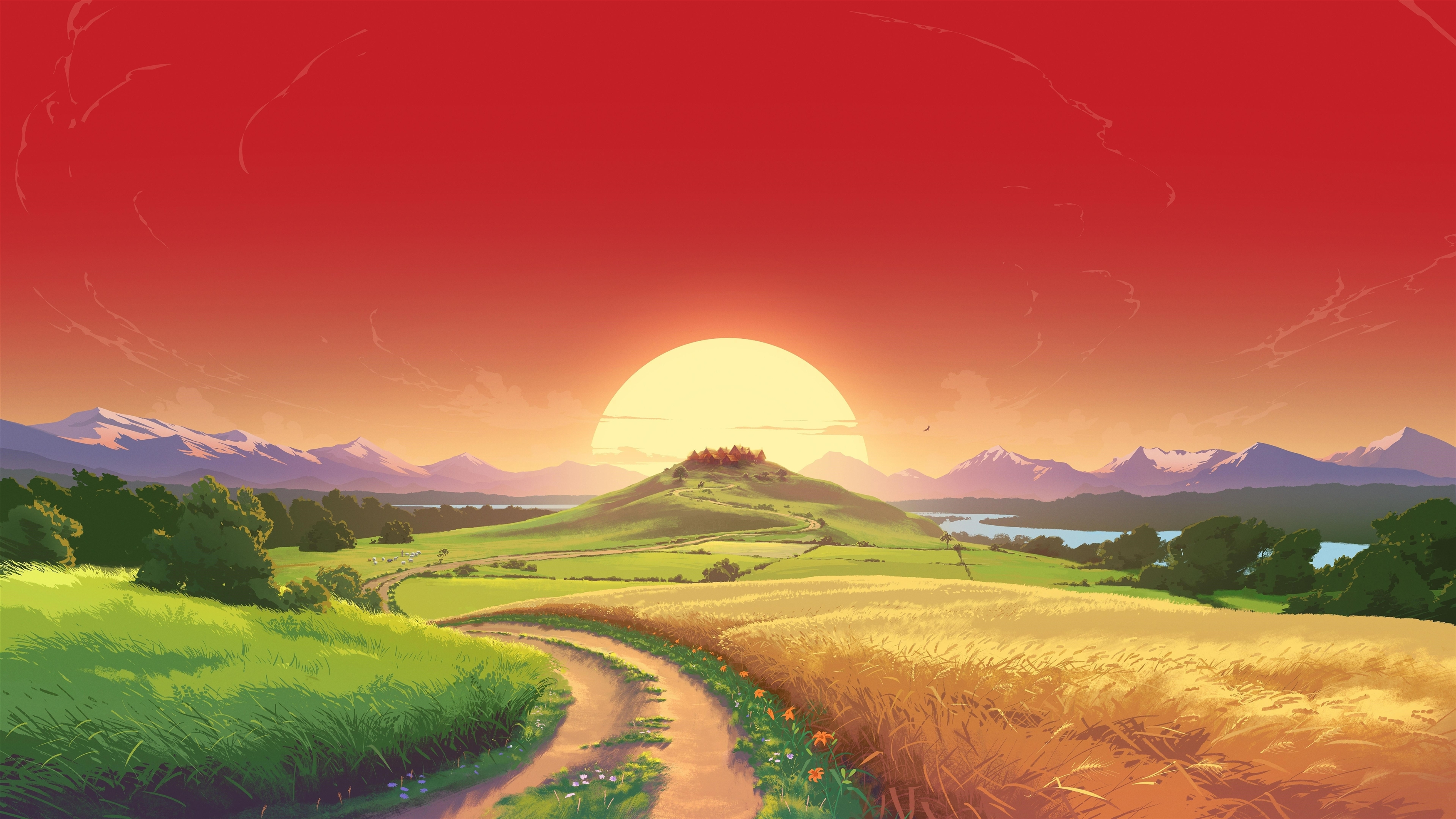 Игра CGI пейзаж обои скачать