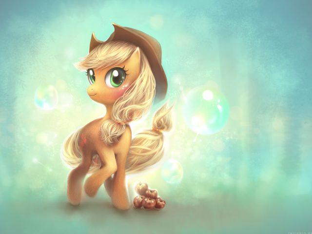 Мой маленький пони эпплджек
