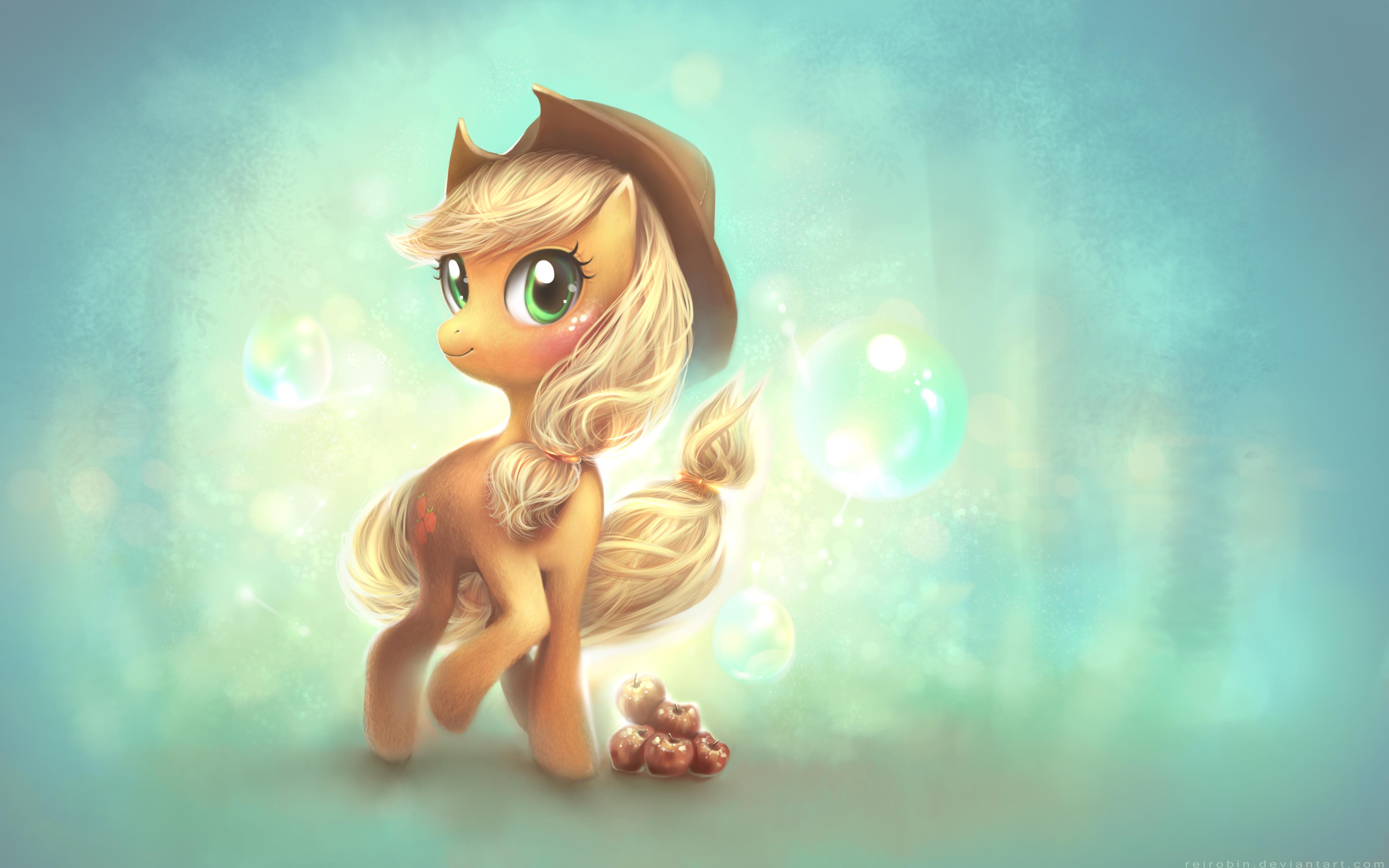 Мой маленький пони эпплджек обои скачать