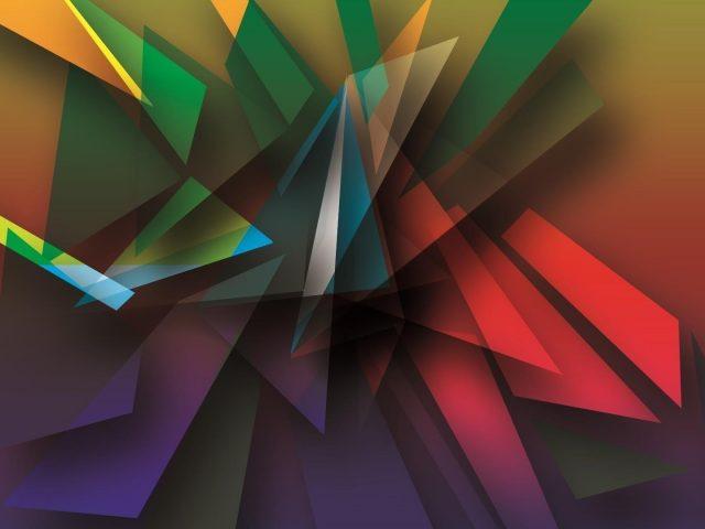 Цифровое искусство геометрия формы цвета абстракция
