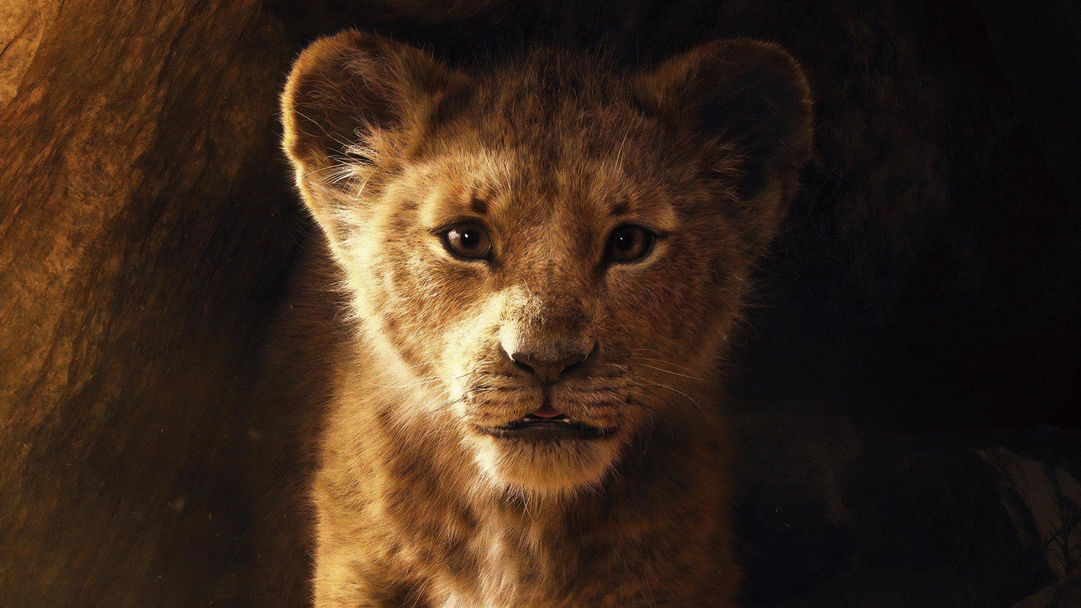 Король-лев обои скачать