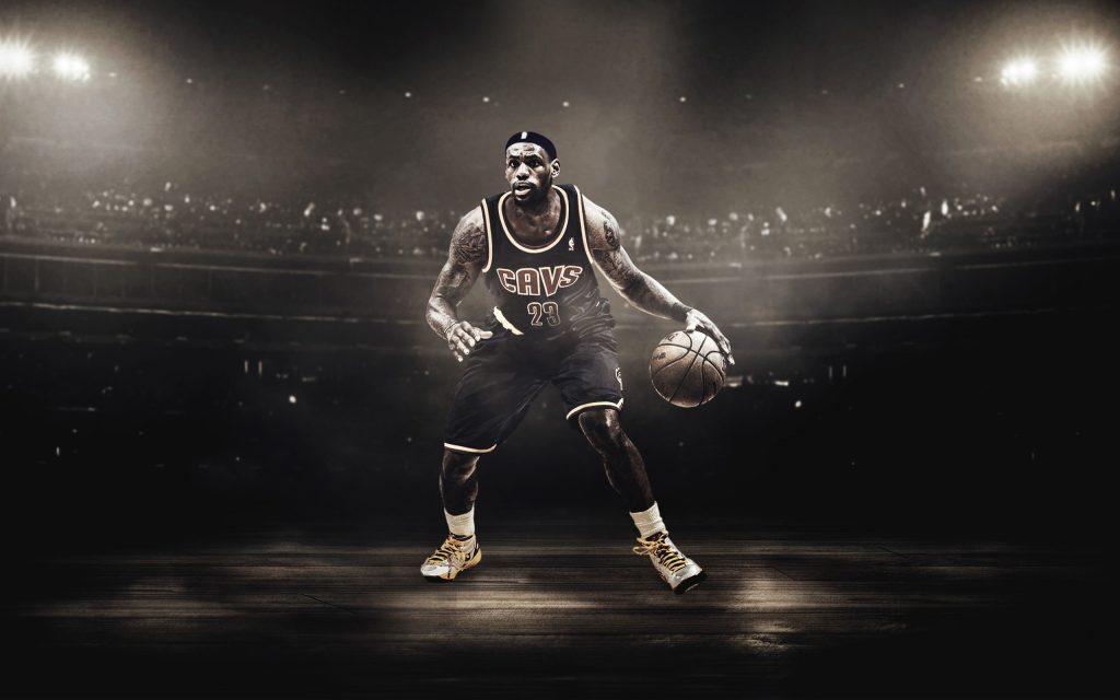 Леброн Джеймс баскетболист. обои скачать