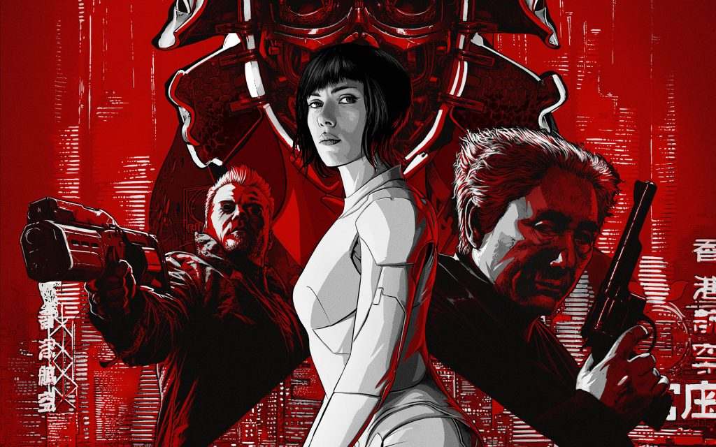 Ghost in the shell. обои скачать