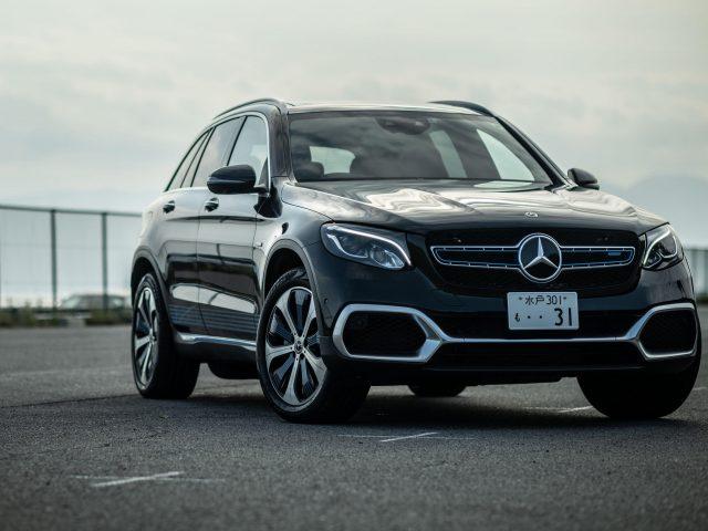 Черный mercedes-benz glc f-cell 2021 автомобили