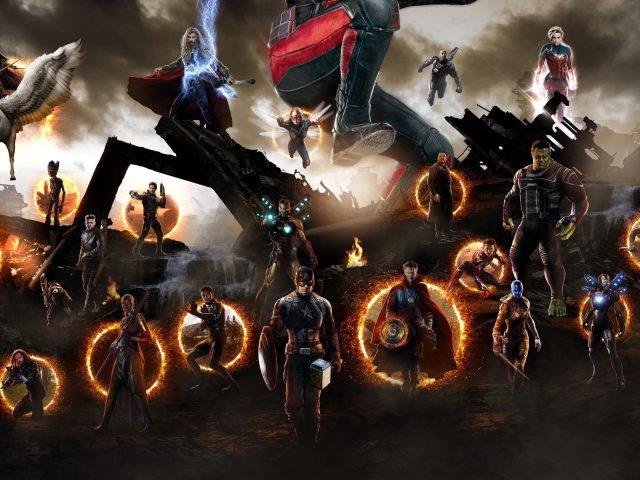 Мстители Эндшпиль финальная битва