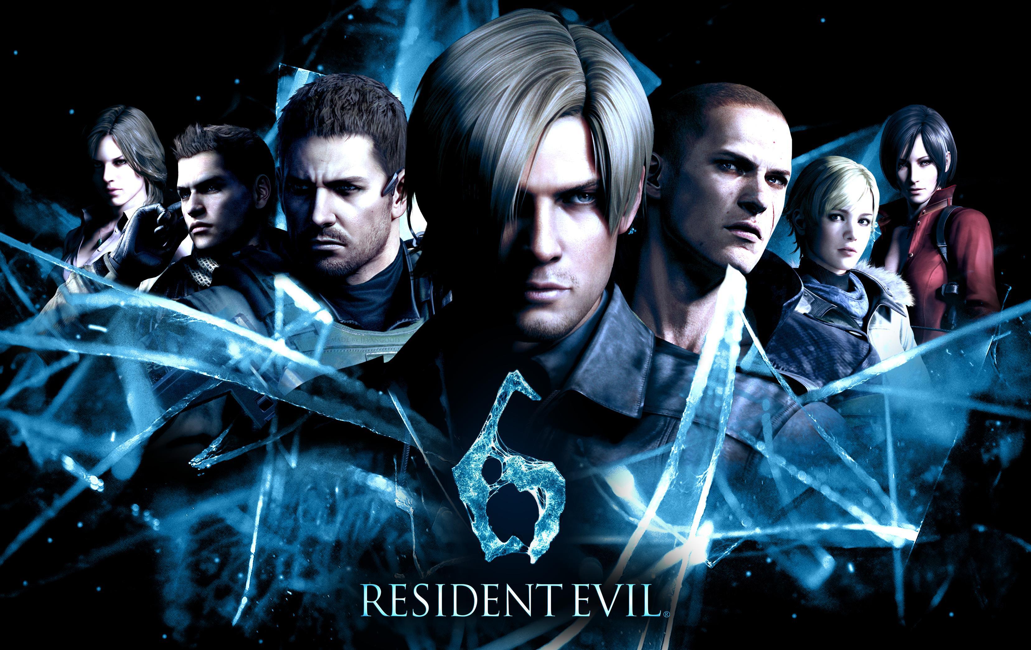Resident Evil, Resident Evil 6, Biohazard 6, Leon Scott Kennedy обои скачать