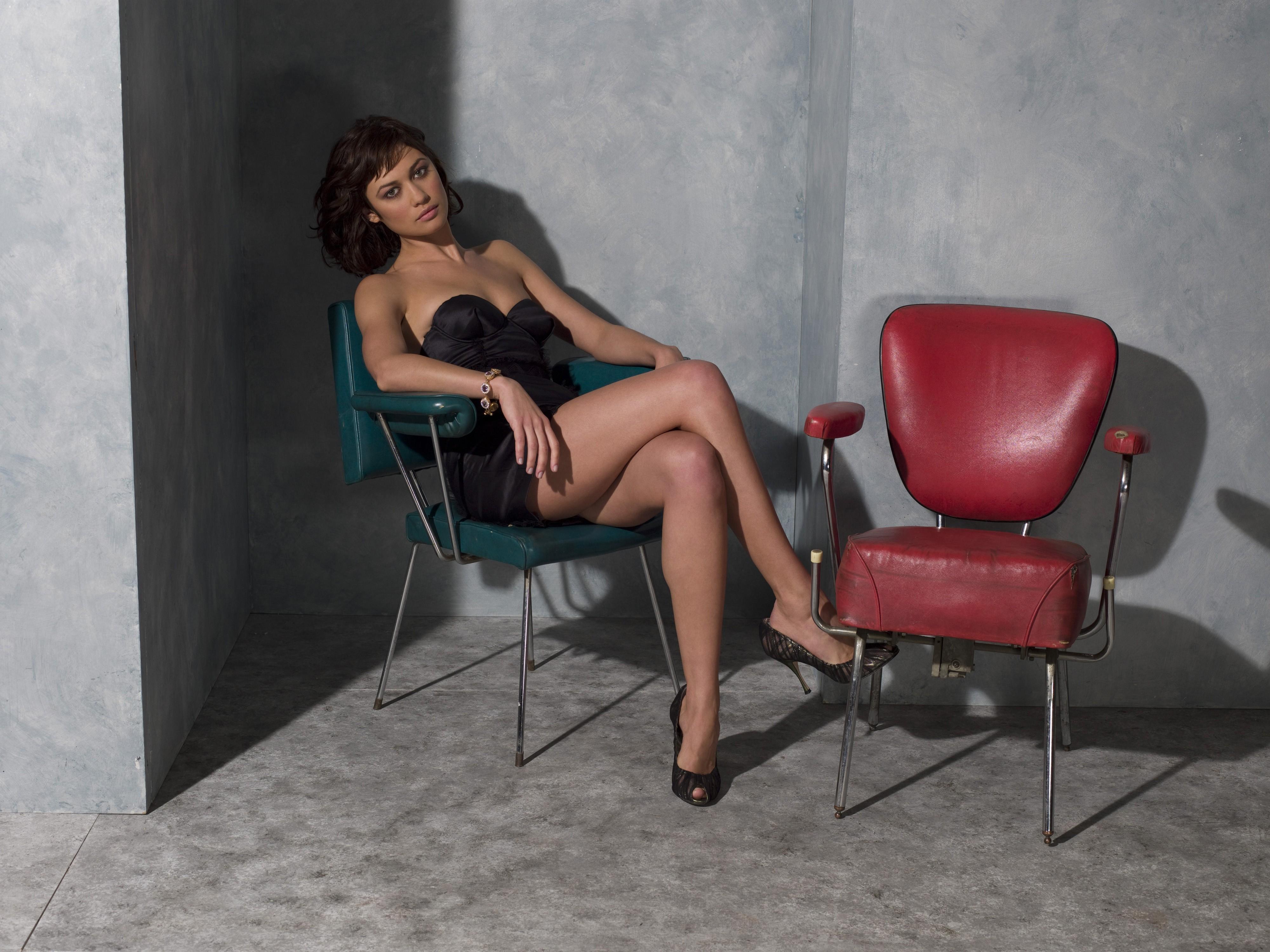 Ольга куриленко, кресло обои скачать