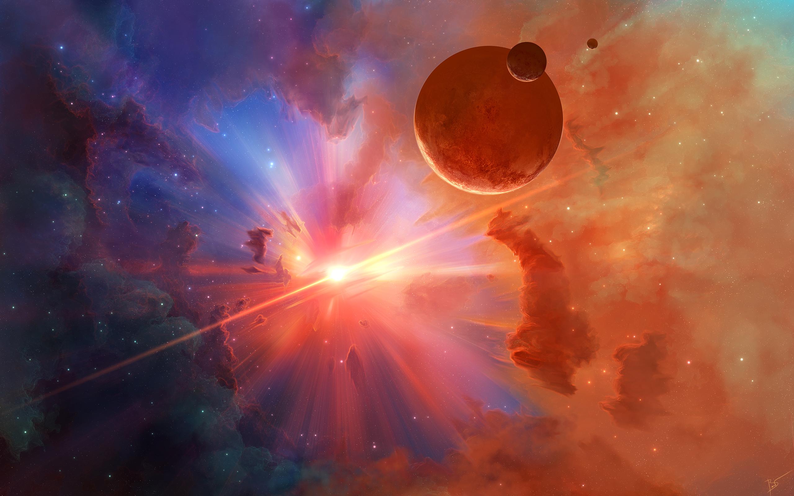 Спектр звезд обои скачать