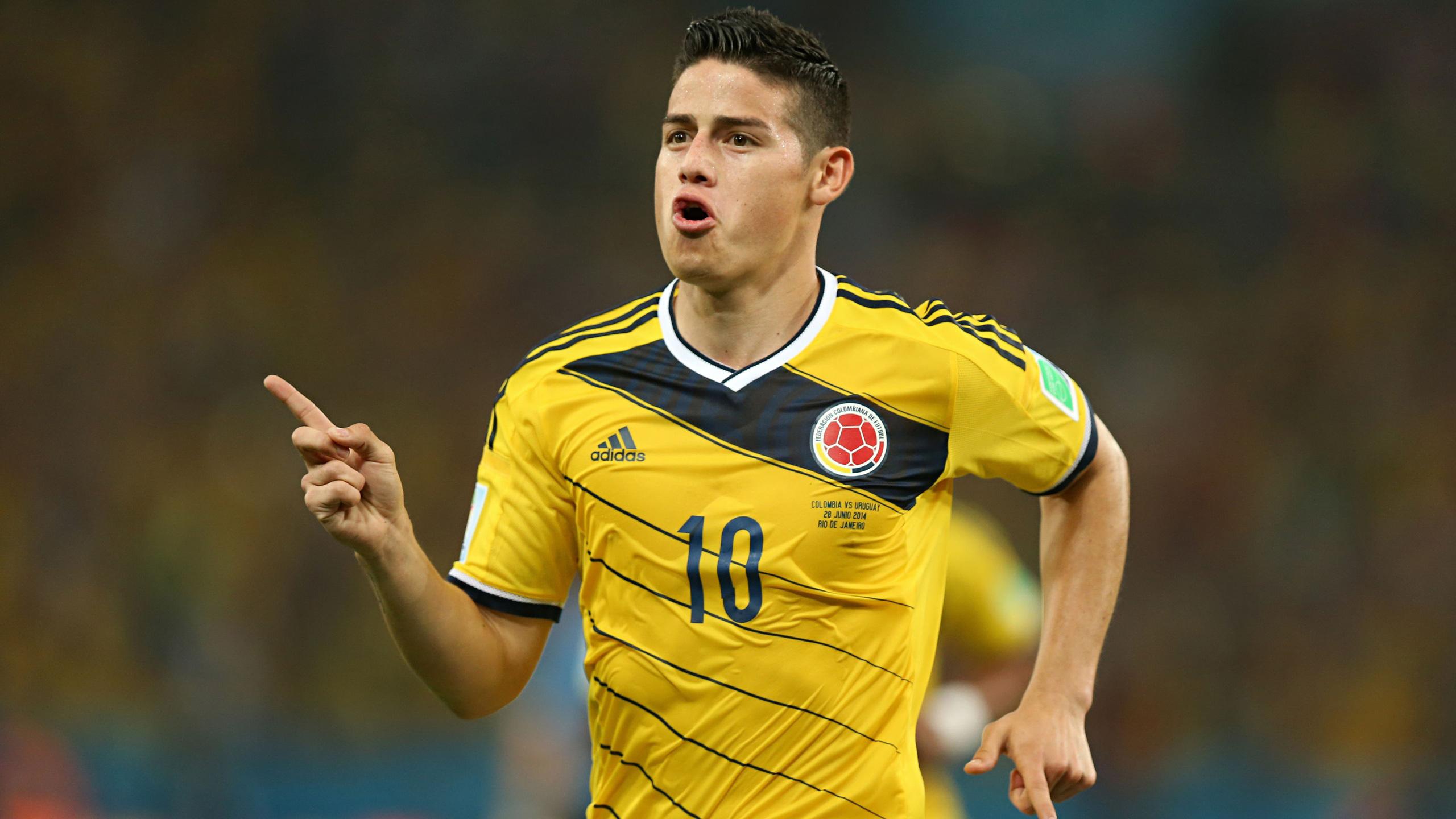 Хамес Родригес колумбийский футболист. обои скачать