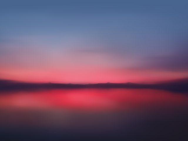 Сумерки закат