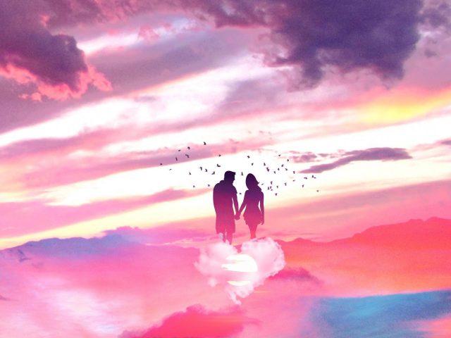 Романтическая любовная пара