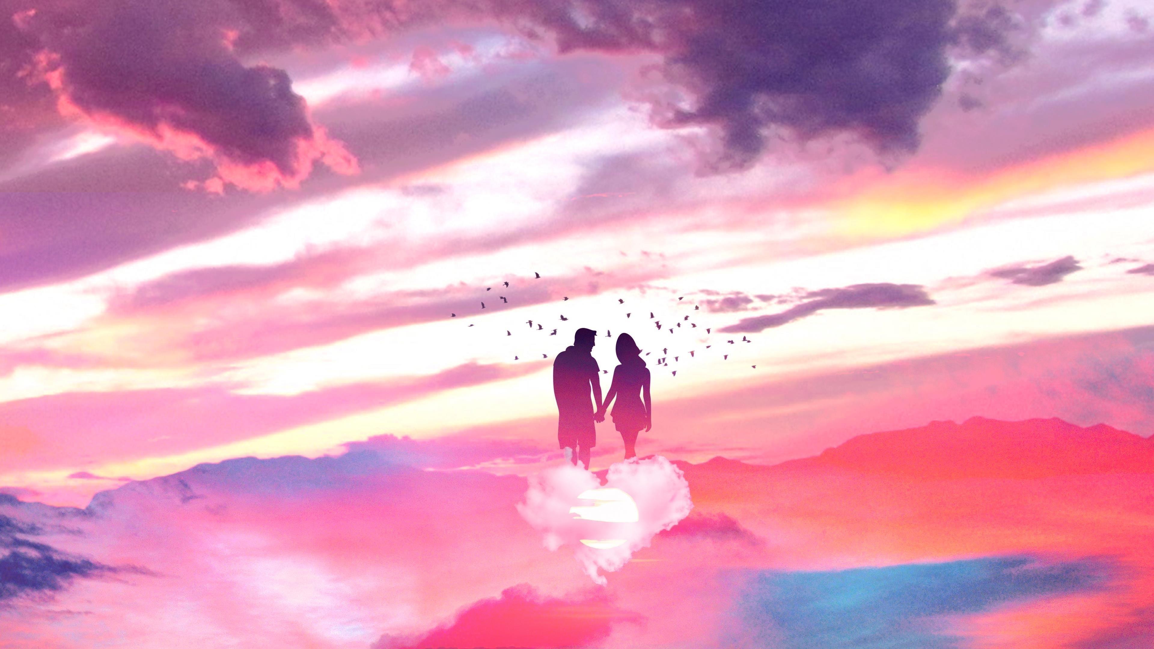 Романтическая любовная пара обои скачать