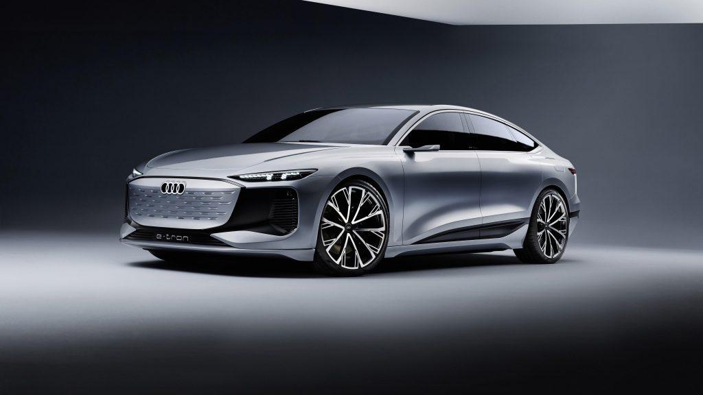 Audi a6 e tron concept 2021 3 автомобиля обои скачать
