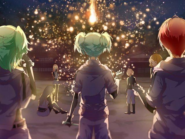 Kurahashi хинано hiroto Маэхара Каэдэ горячем источнике, сауна карма акабане Нагиса шиота убийство класс