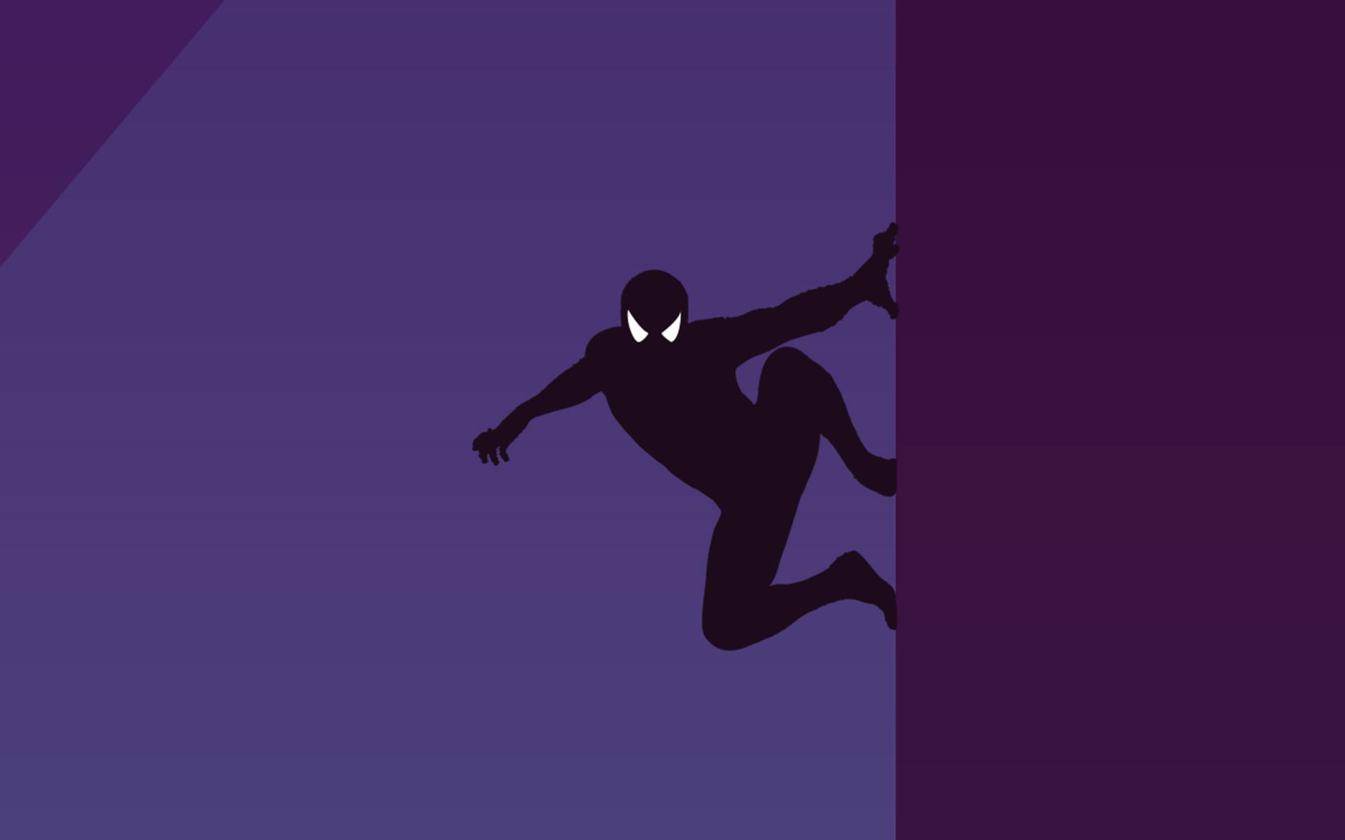 Человек-паук минимальный обои скачать