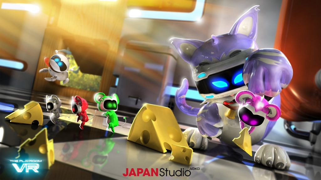 Игровой виртуальной реальности для PlayStation ВР. обои скачать