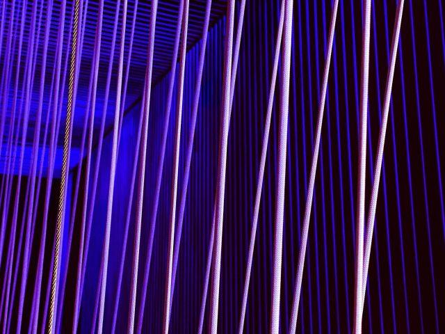 Линии полосы неоновая абстракция
