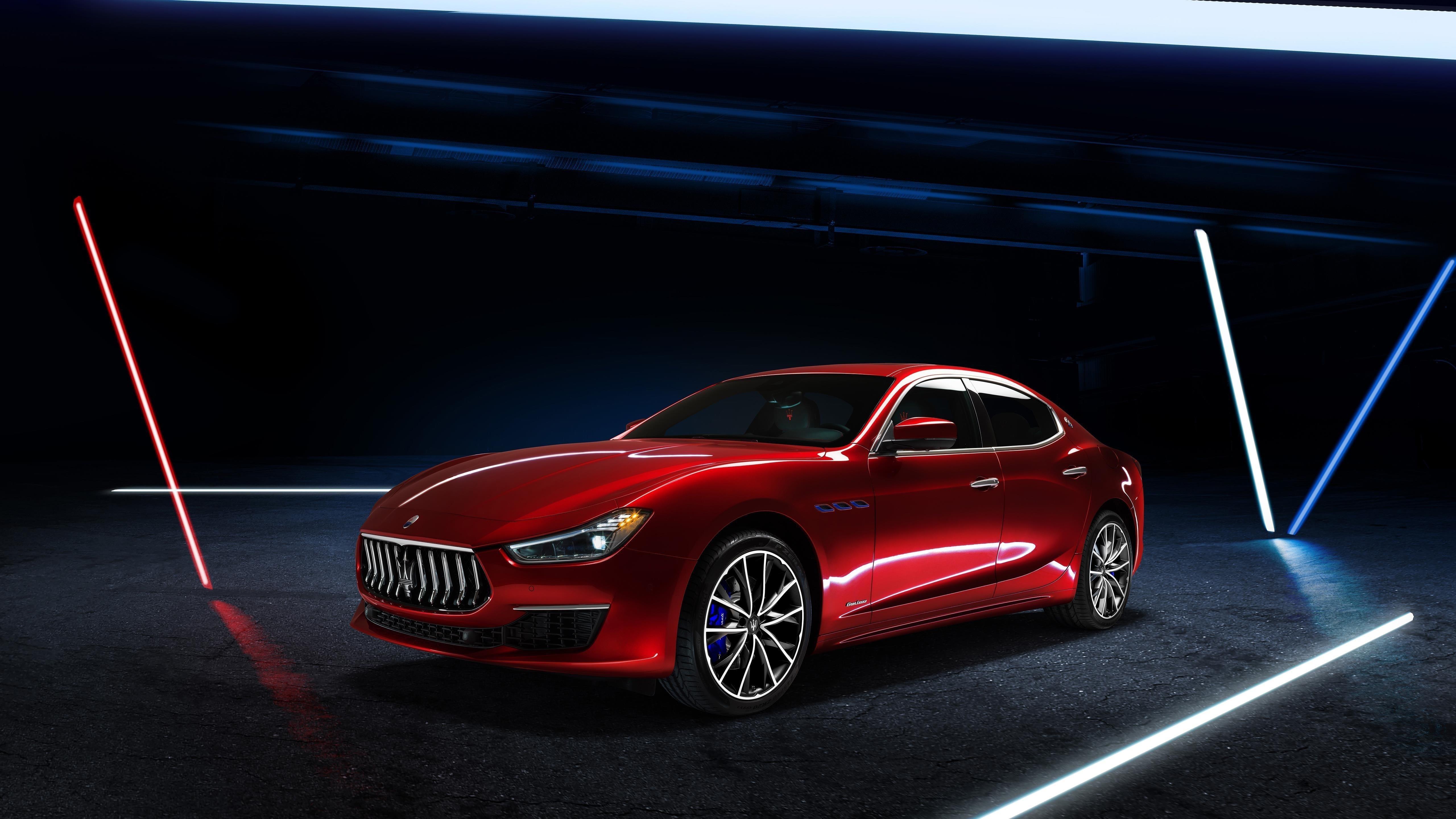 Maserati ghibli gran lusso hybrid 2020 обои скачать