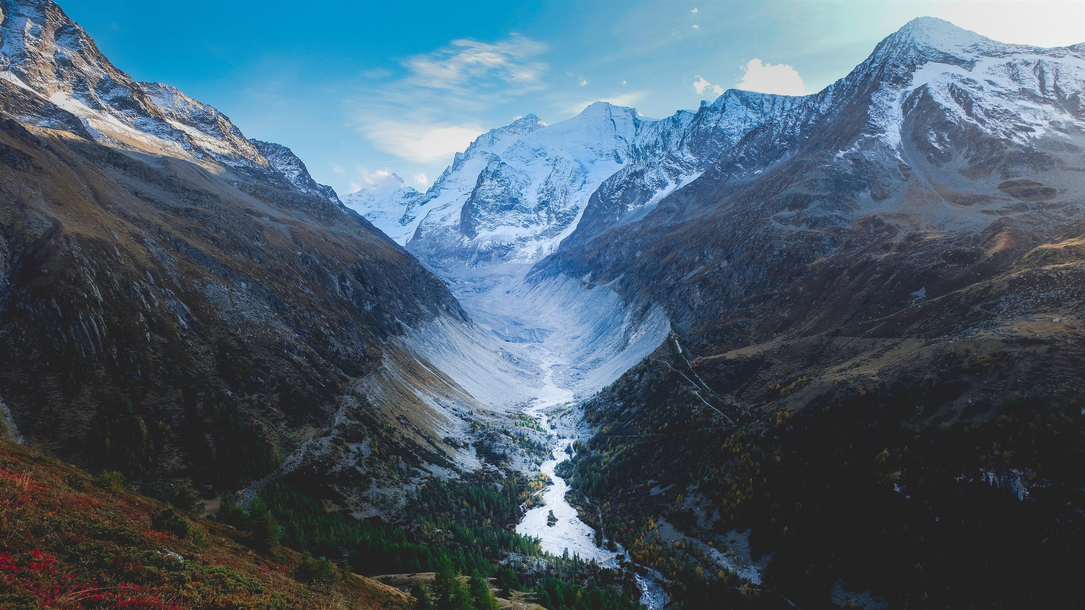 Швейцарские горы обои скачать
