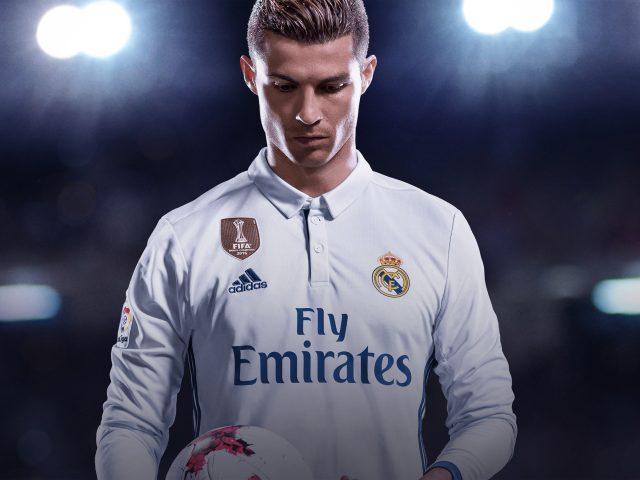Криштиану Роналдо ФИФА 18.