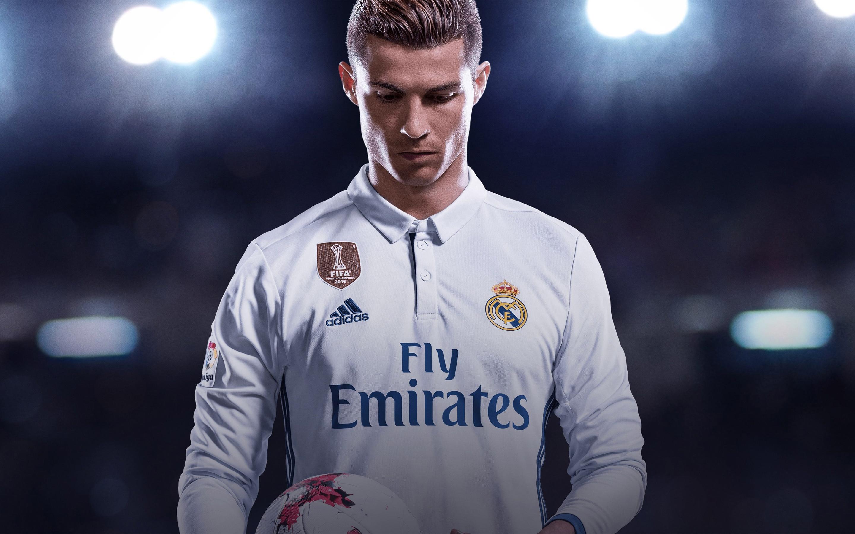 Криштиану Роналдо ФИФА 18. обои скачать