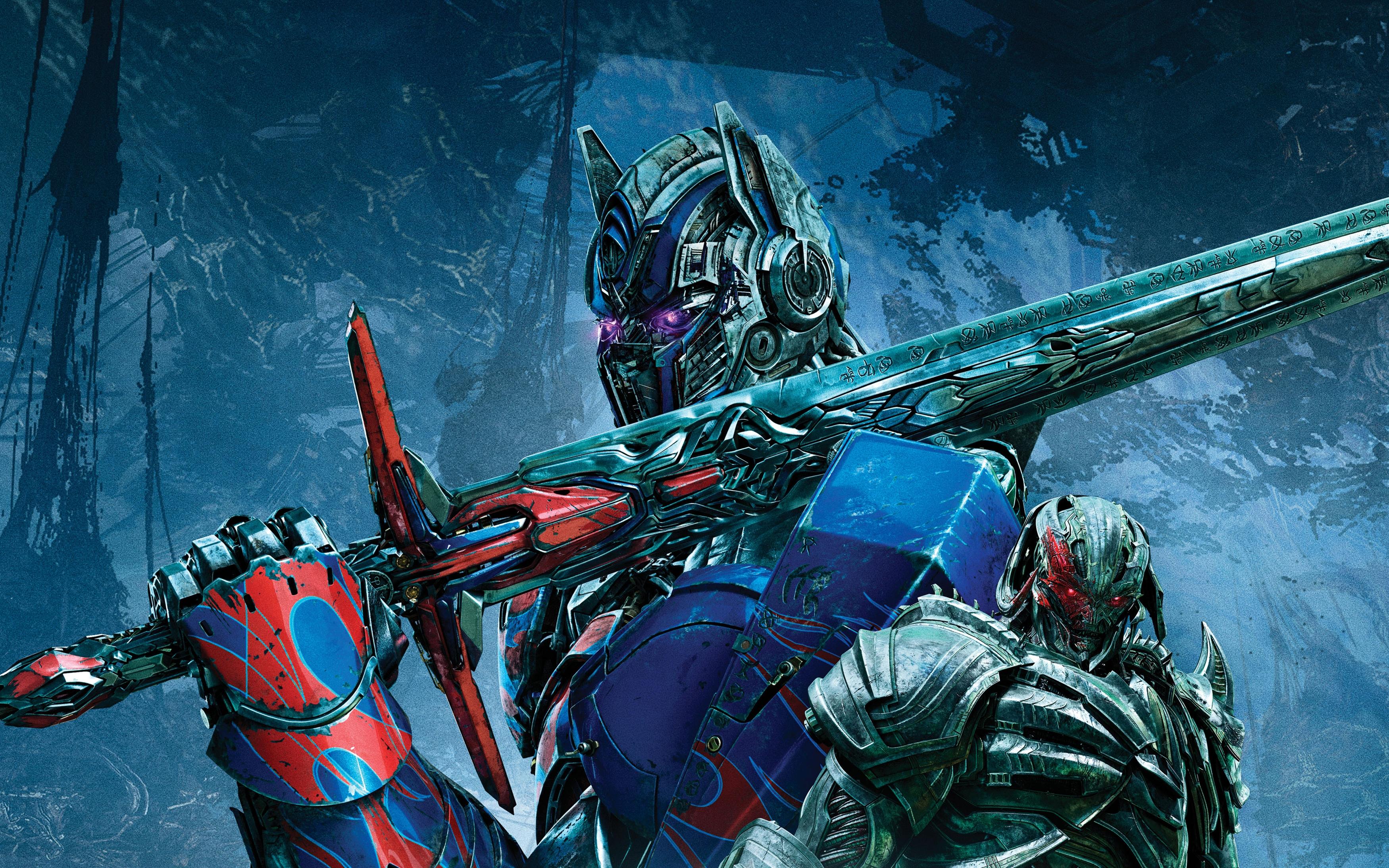 Трансформеры последний рыцарь Оптимус Прайм. обои скачать