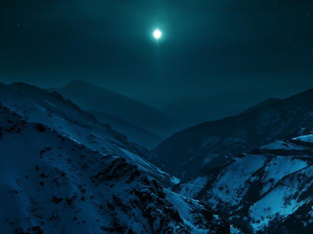 Ночь лунных гор