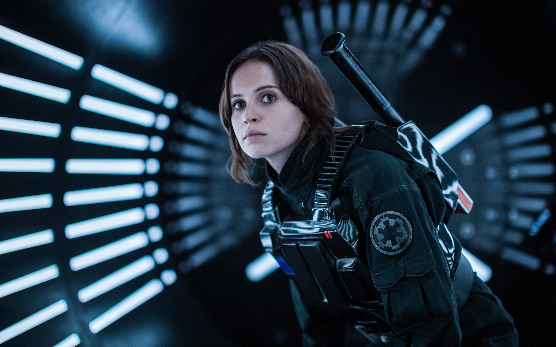 Felicity Jones Rogue One A Star Wars Story обои скачать