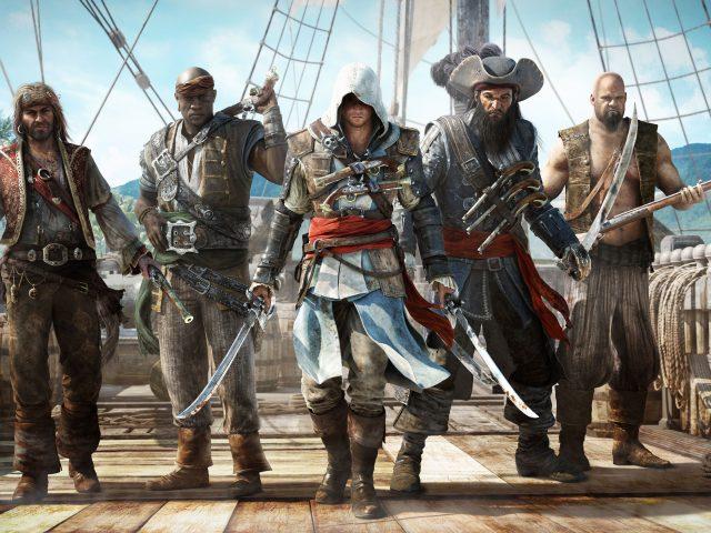 Assassin's Creed IV: Black Flag,  Кредо Убийцы 4: Черный Флаг,  пираты,  ассасин