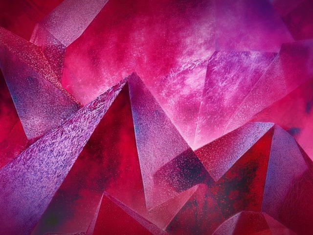 Треугольники пирамидальная геометрия 3d искусство абстракция