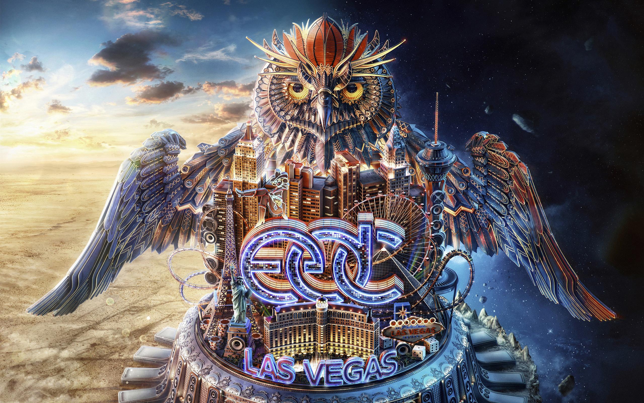 Лас-Вегас электрический Дейзи карнавал обои скачать