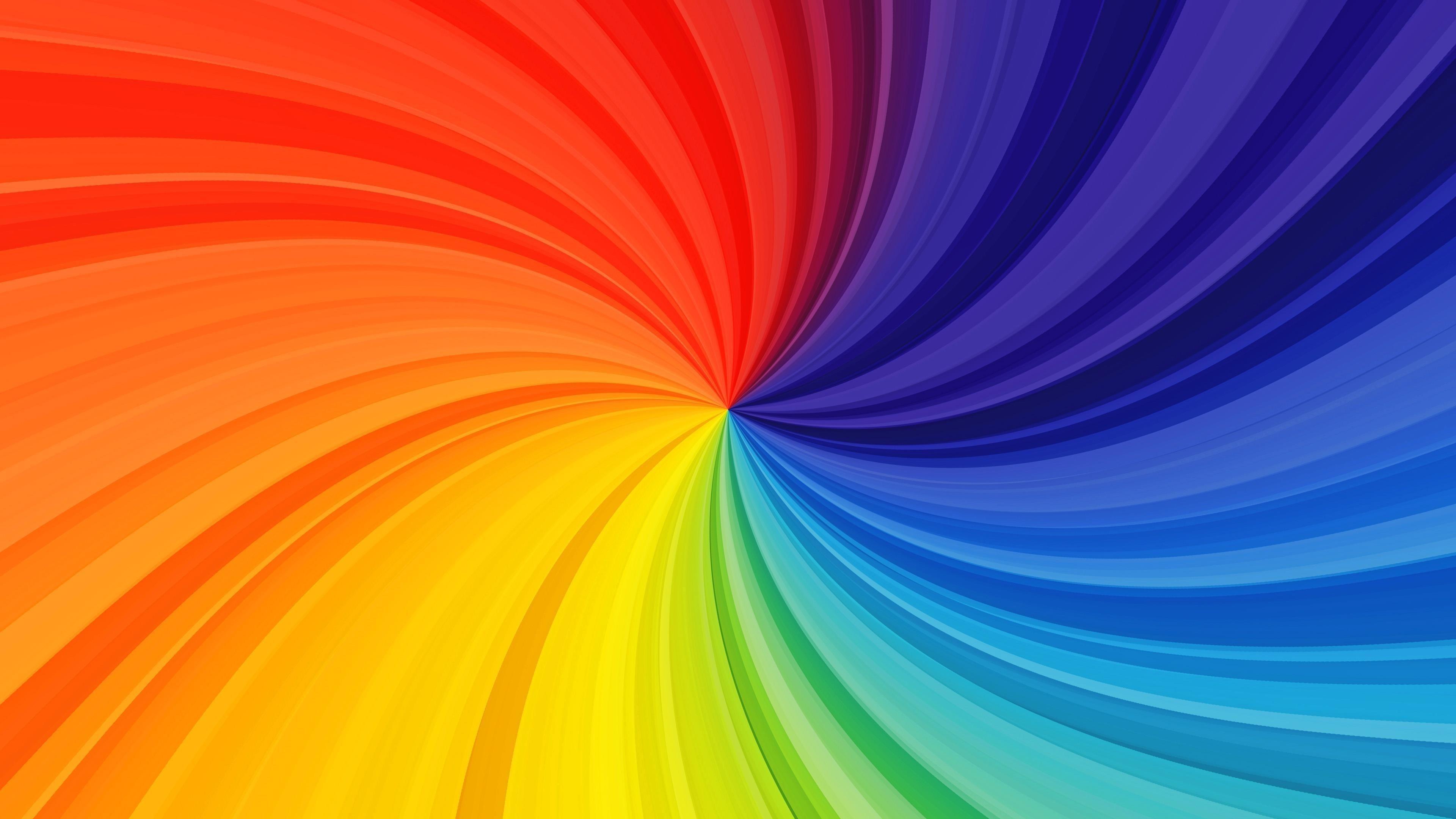 Творческий вихрь красочный радужный вихревой фон абстрактный обои скачать