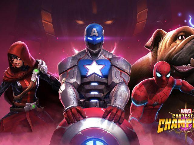Marvel конкурс чемпионов