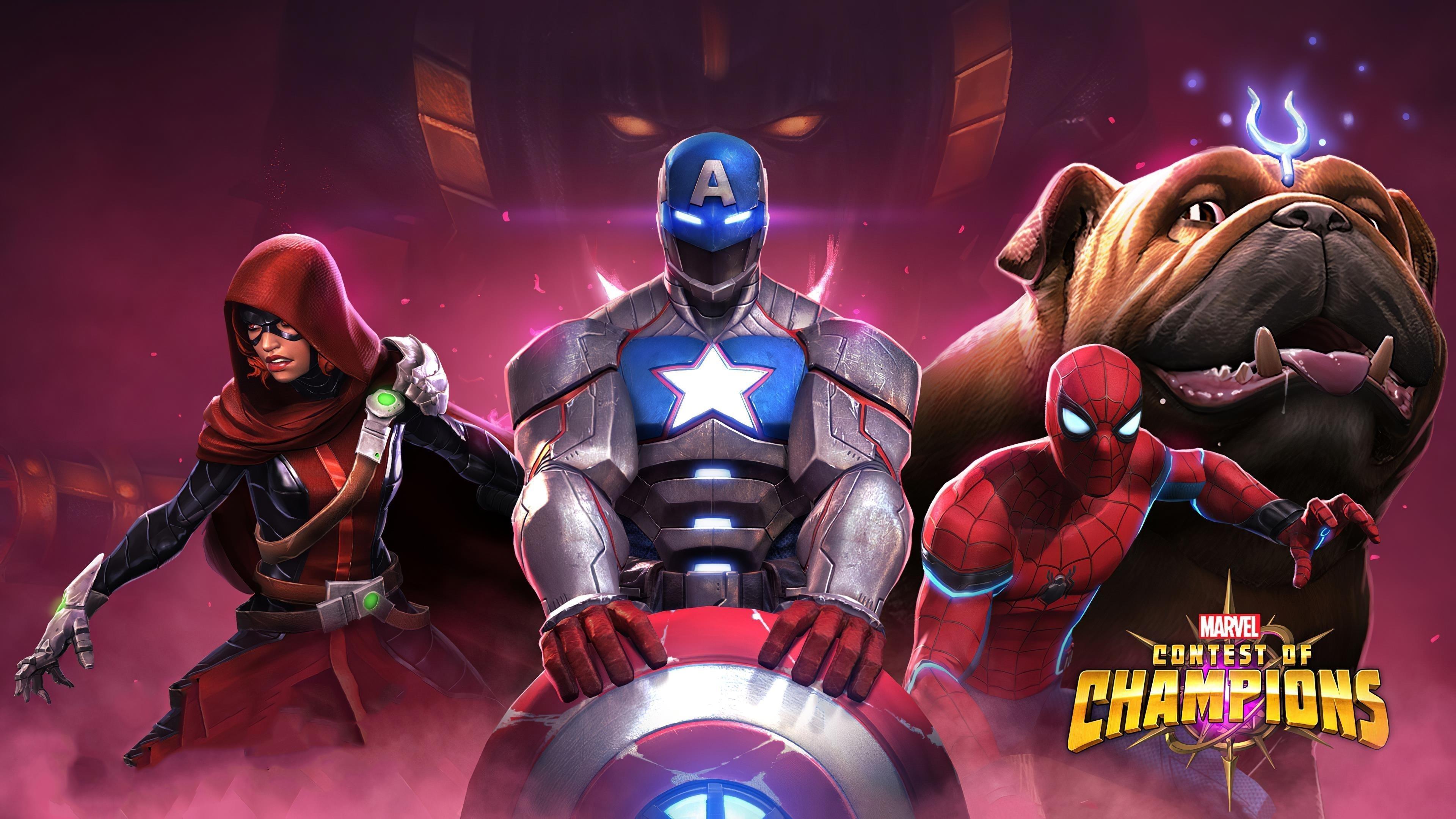 Marvel конкурс чемпионов обои скачать