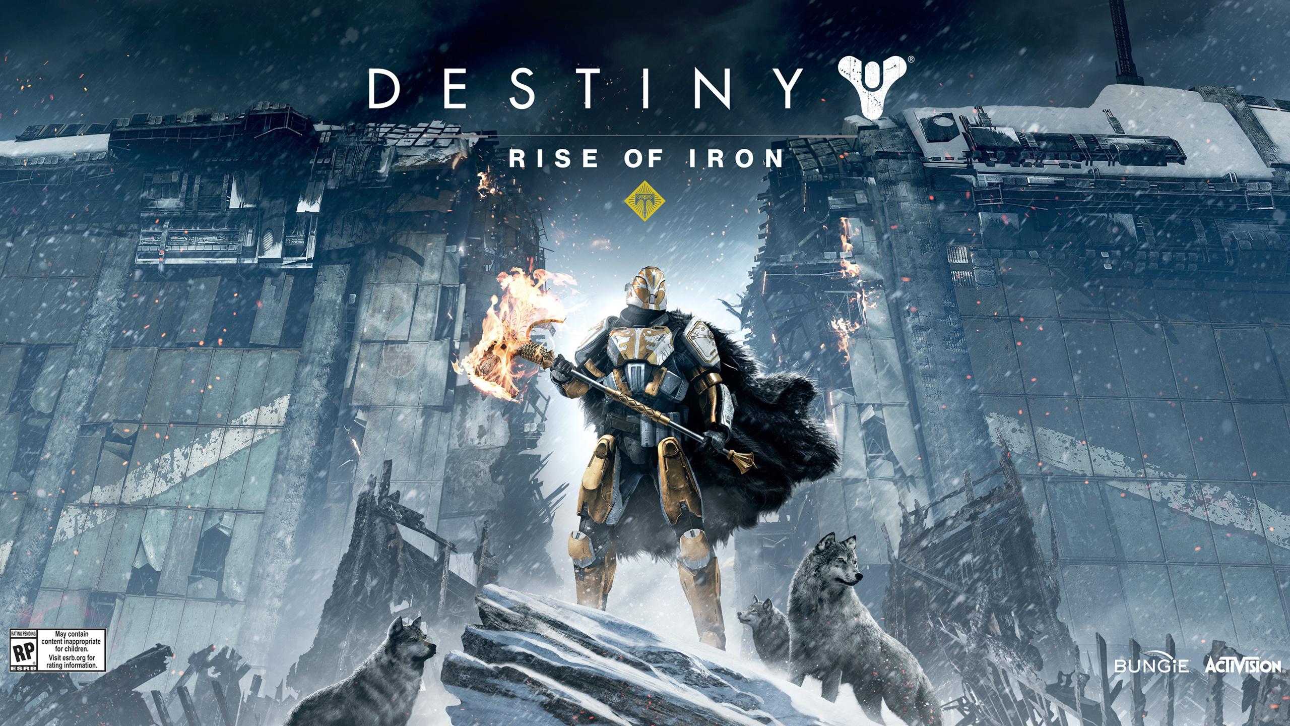 Destiny Rise of Iron обои скачать