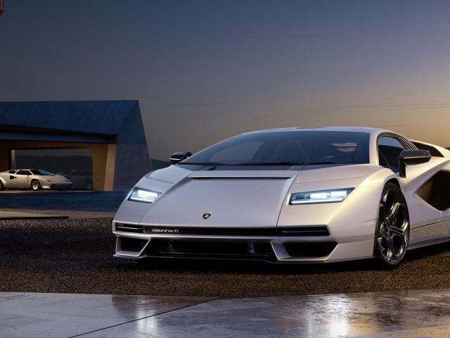 2022 lamborghini countach lp 800 11 автомобилей