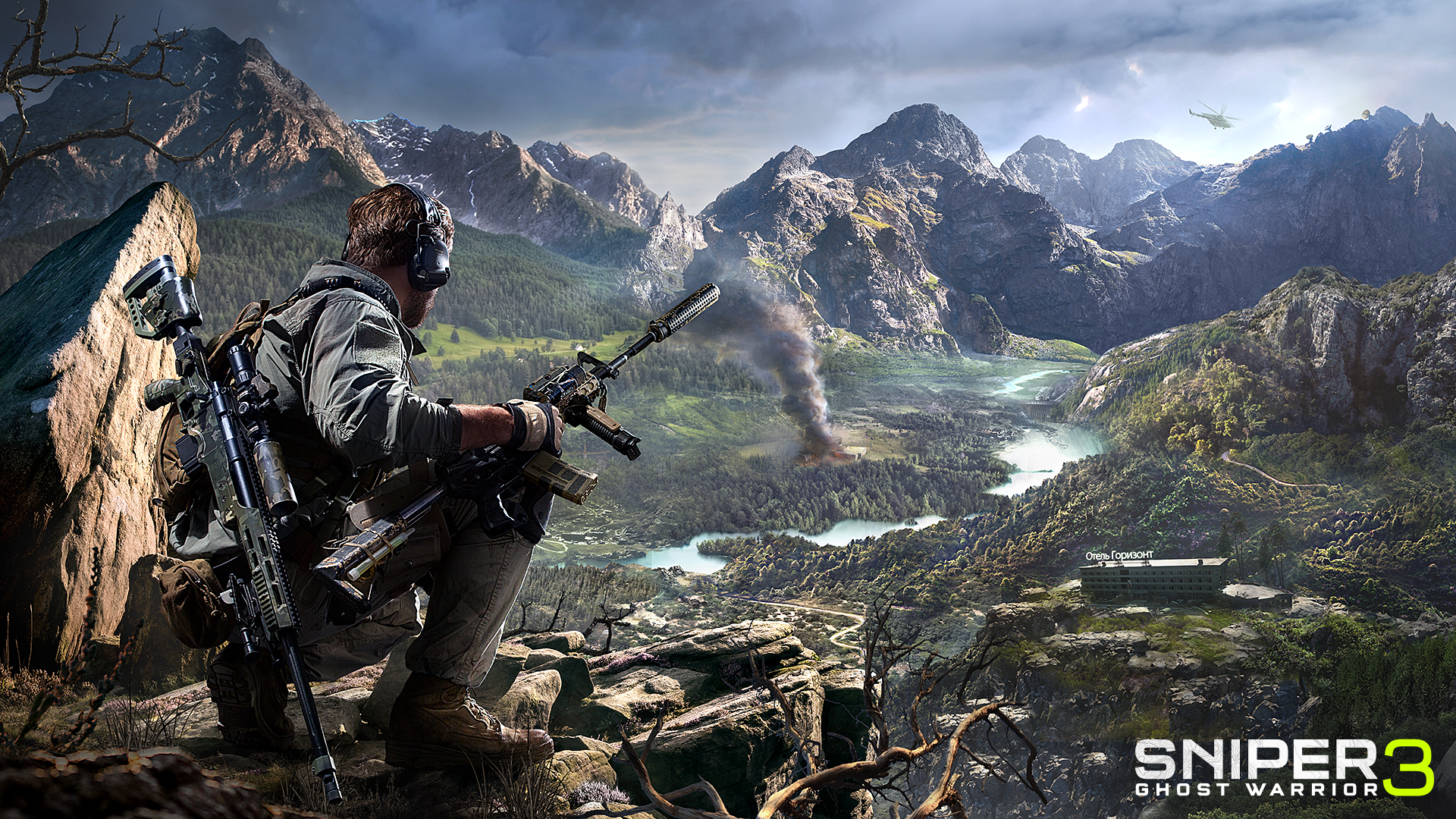 Sniper Ghost Warrior 3 PS4 Xbox обои скачать