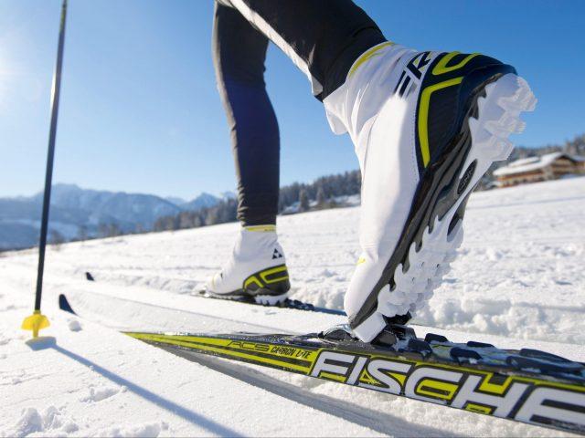 Снег лыжи спорт