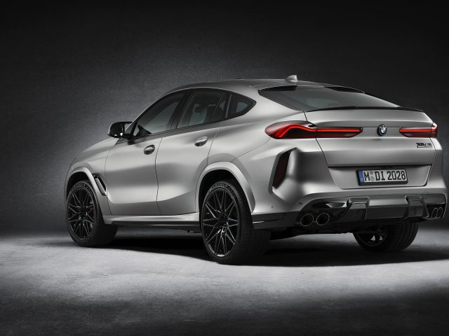 Bmw x6 m competition first edition 2021 2 автомобиля