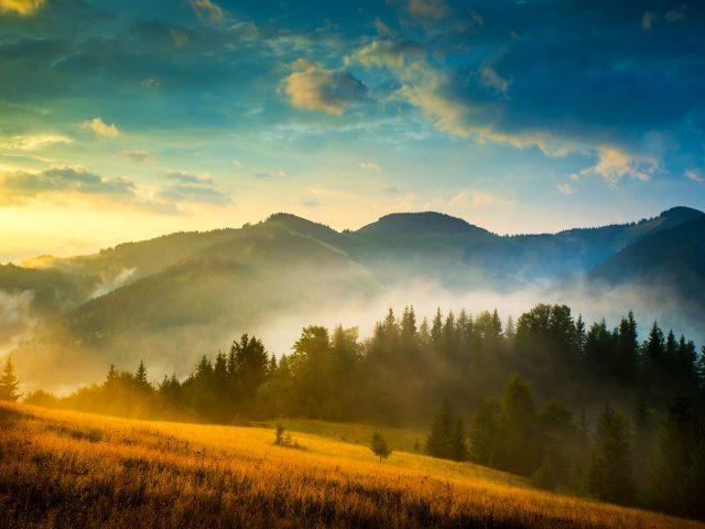 Горы пейзаж 4к