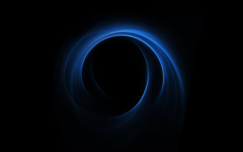 Синяя спираль huawei honor v8 обои скачать