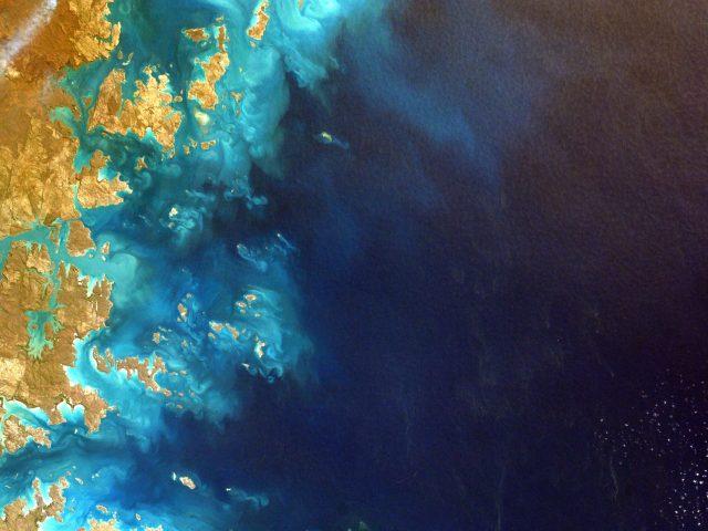 Северо-Западная Австралия из космоса