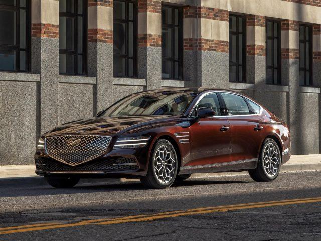 2021 genesis g80 автомобили
