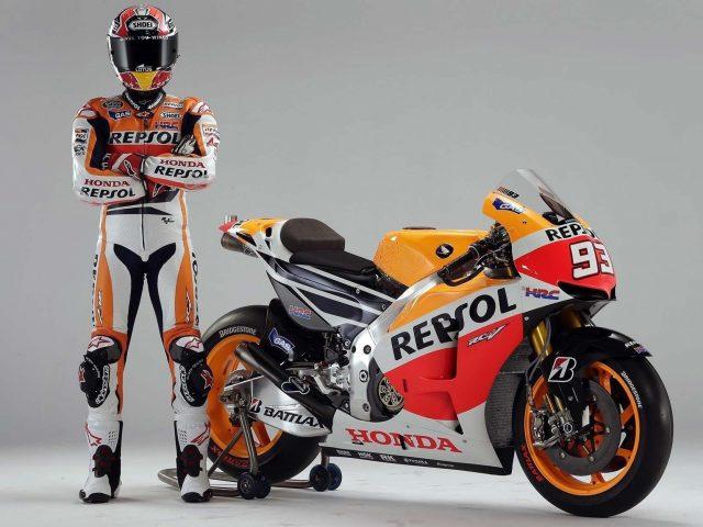 «Репсоль» Хонды Марк Маркес rc213v MotoGP в 2019