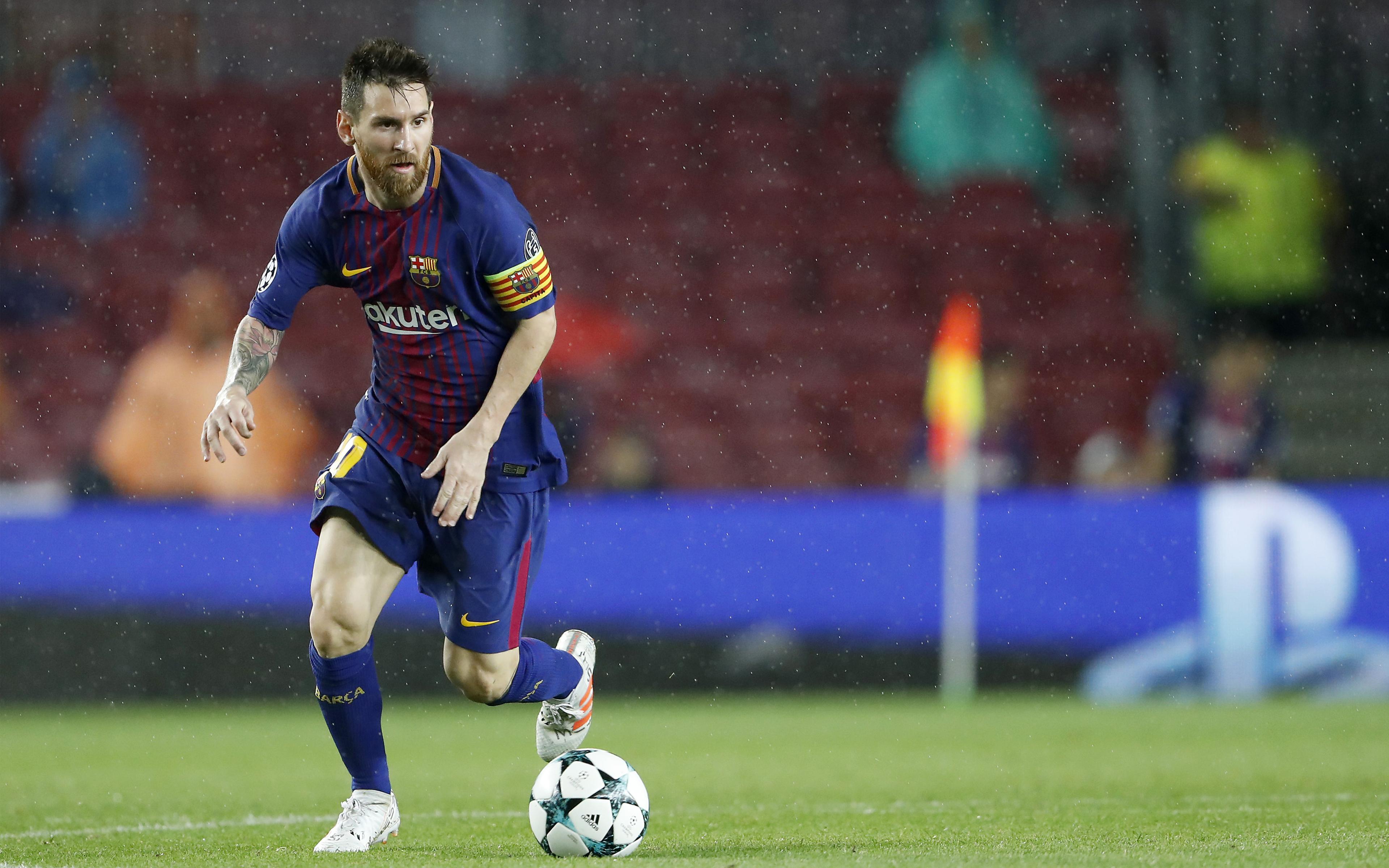 Лионель Месси ФК Барселона обои скачать